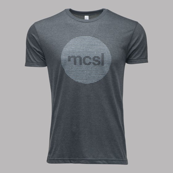 Image of microCastle 'Stereo Field' T-Shirt Heather Black