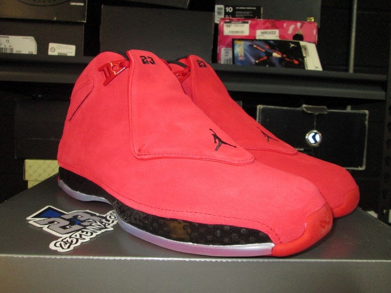super popular e3e82 5b088 Image of Air Jordan XVIII (18) Retro