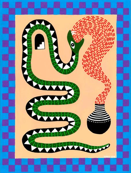 Image of Snake Medicine Giclee Print