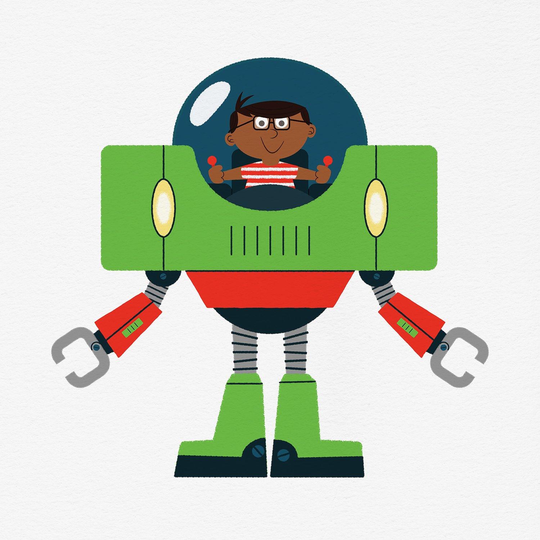 Image of RoboPal - Benny