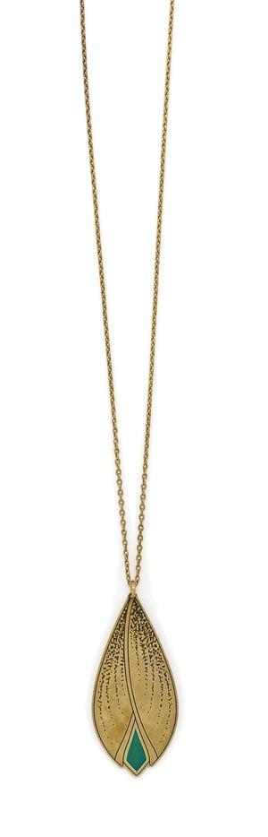 Image of LOTUS collier mi-long