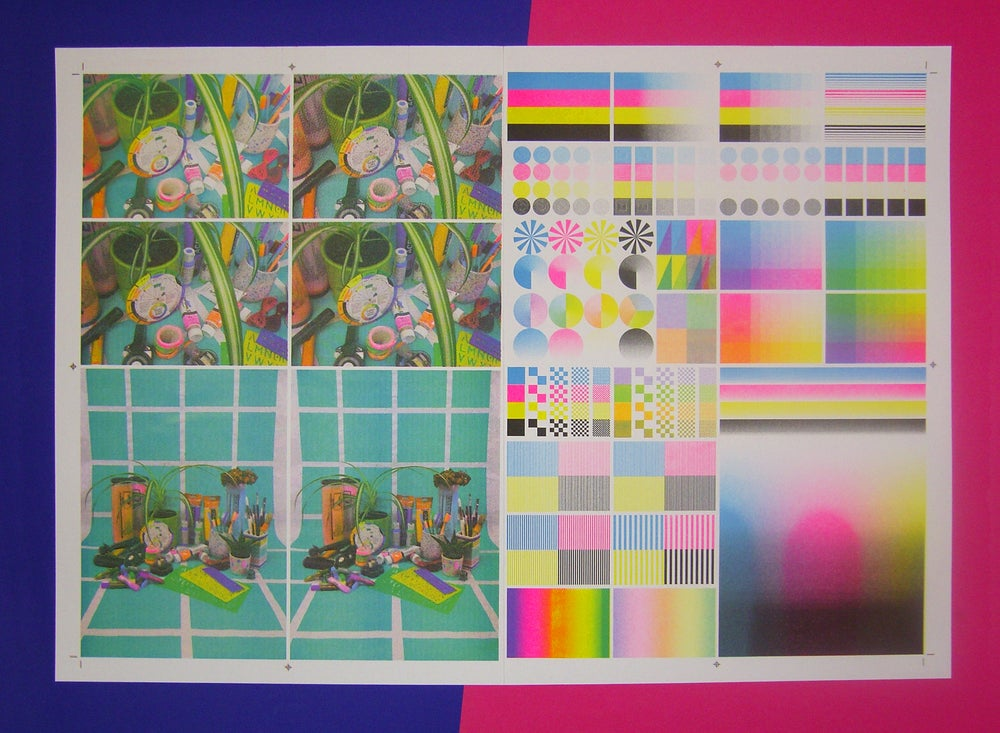 Image of Riso IT8 Chart