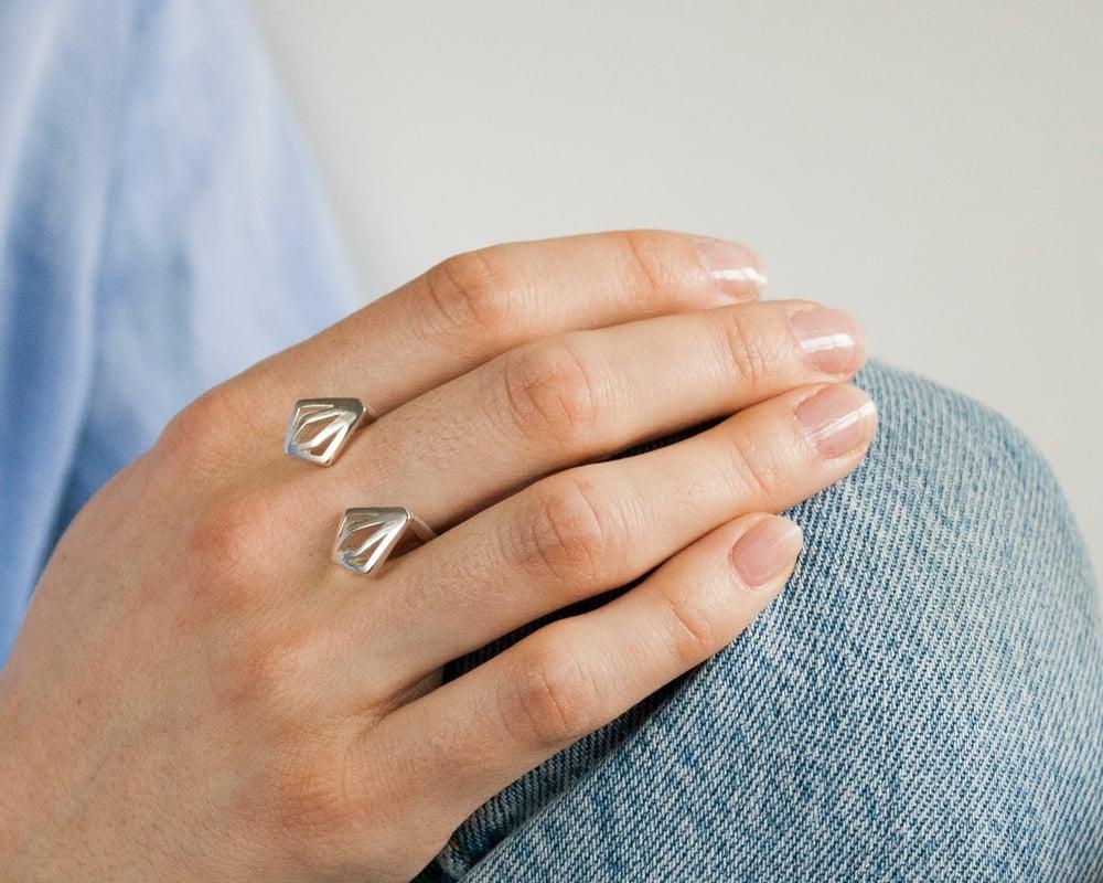 Image of Collection Miroir - Bague Diamant