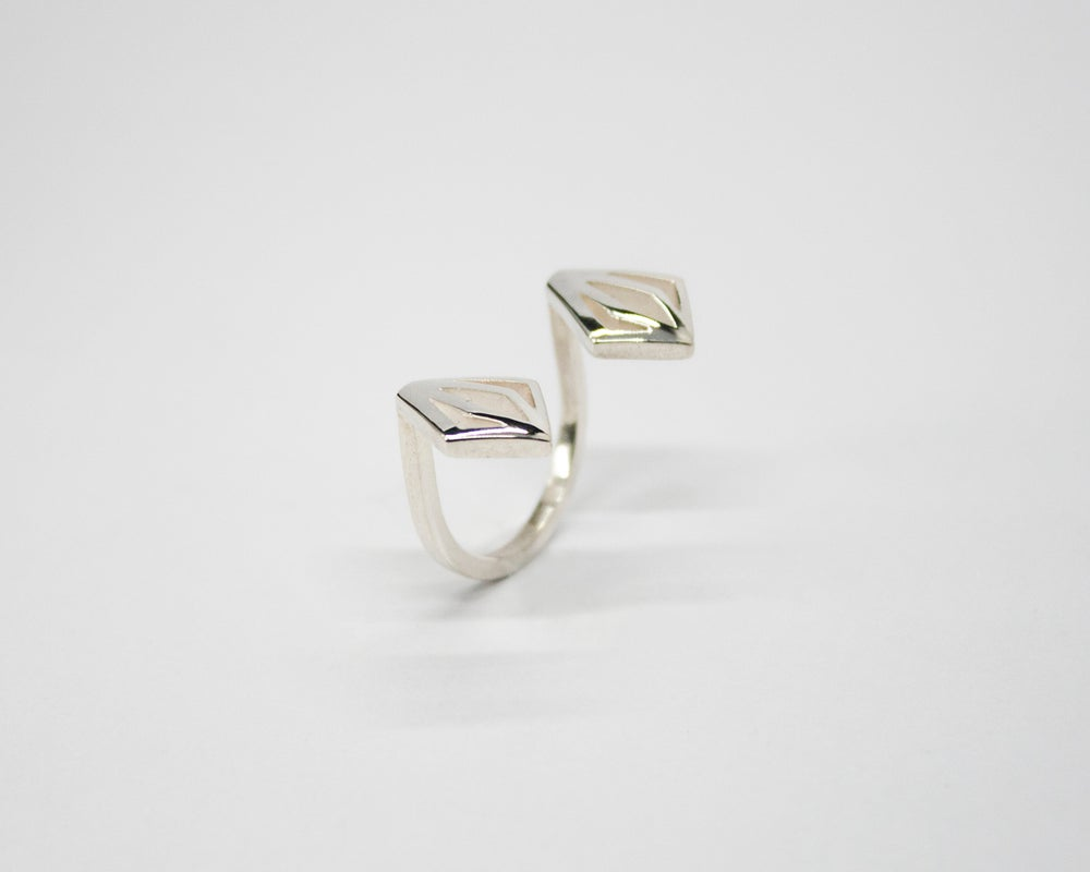 Image of Collection Miroir - Bague Diamant