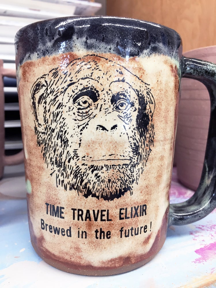Image of Hand Thrown Mug - Time Travel Elixir