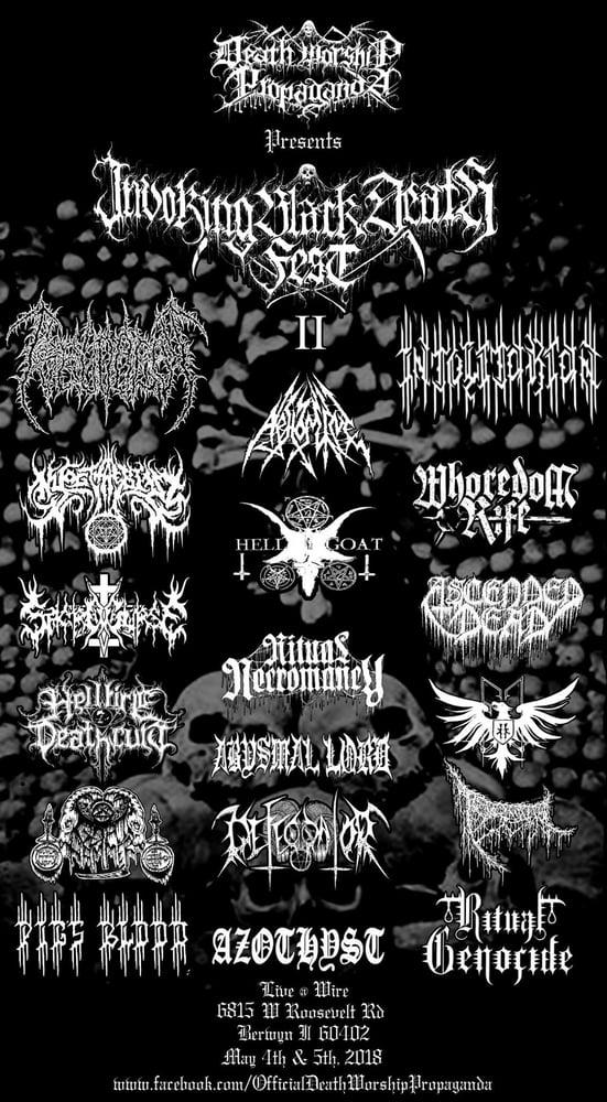 Image of Invoking Black Death Fest II