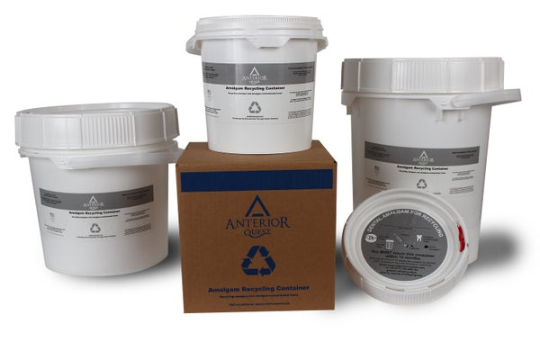 Image of Amalgam Recycling Bucket 1.25, 3.5 or 5 gallon