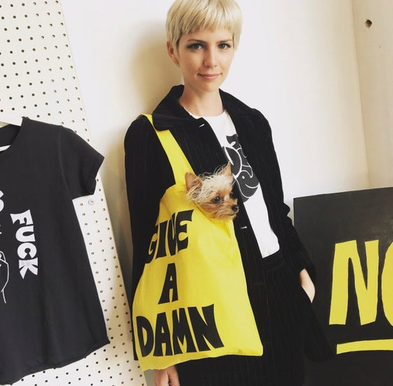 Image of GIVE A DAMN Tote