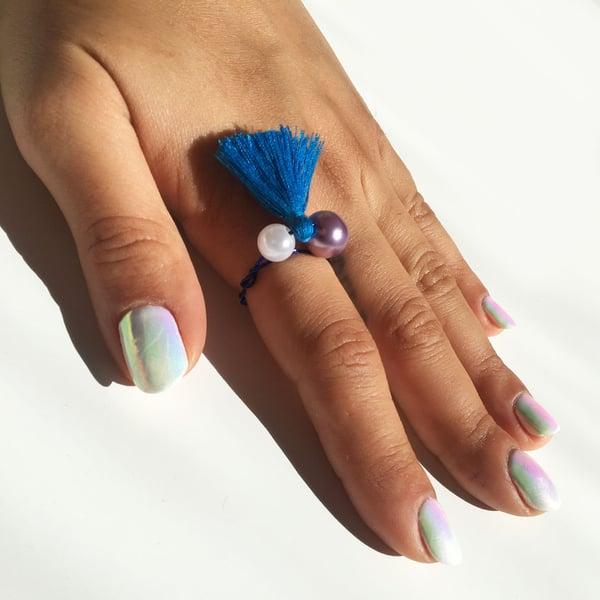 Image of Glacier Finger Tassels