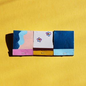 Image of Dancing Barefoot Matchbook Set