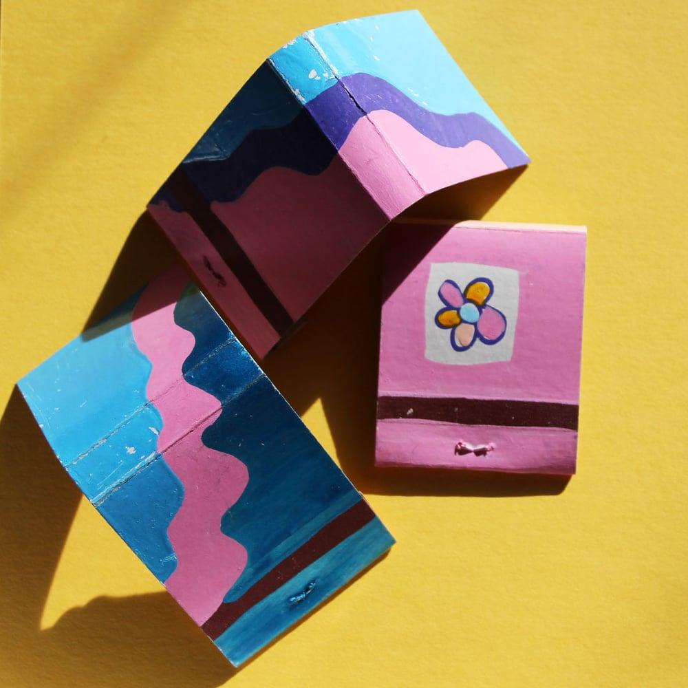 Image of Mellow Marshmallow Matchbook Set
