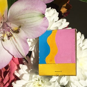 Image of Saffron Sunshine Matchbook Set