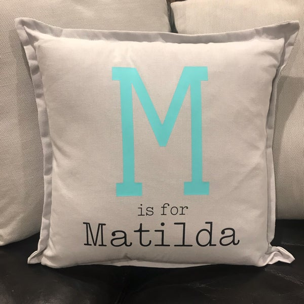 Image of P is for .... Personalised Cushions