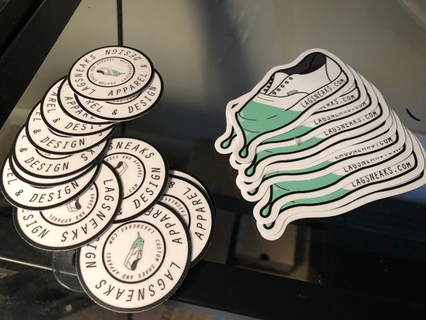Image of Lagsneaks Stickers