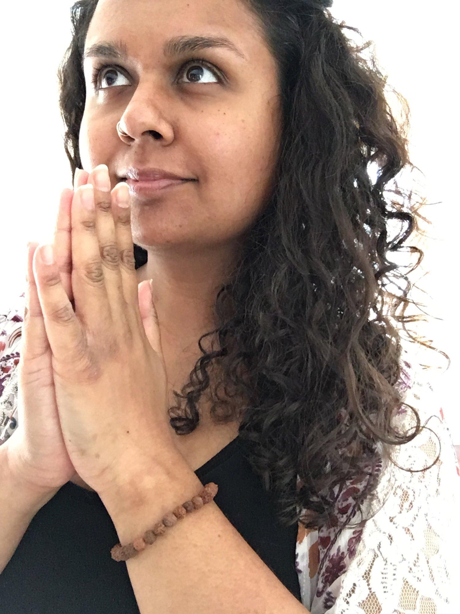 Image of Rudraksha Wrist Mala