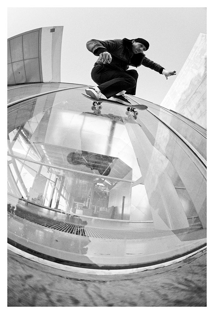 Image of Jason Dill Glass ride, Los Angeles, Ca 2012