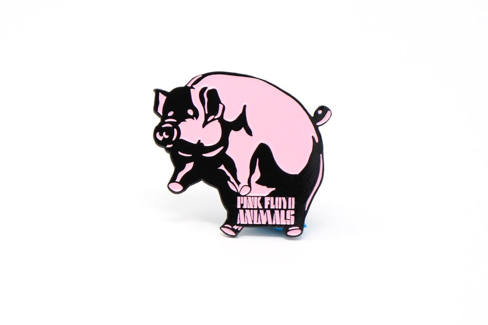 Image of Pink Floyd Animals Pig Enamel Pin