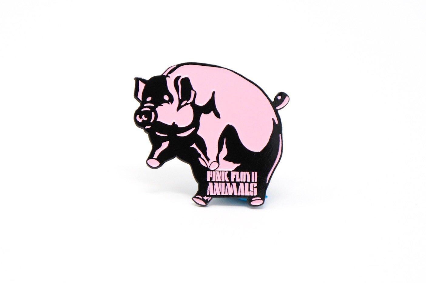 Image of Pink Floyd Animals Pig Enamel Pin
