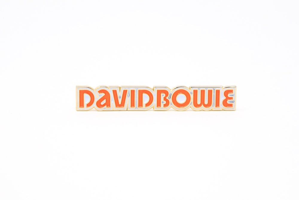 Image of David Bowie - Low Logo