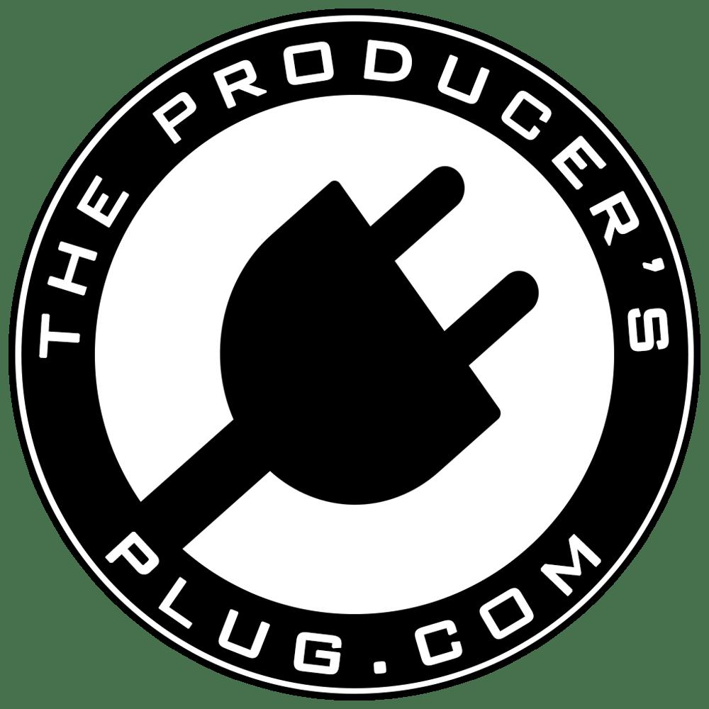 Image of The Producer's Plug.com Logo   Sticker