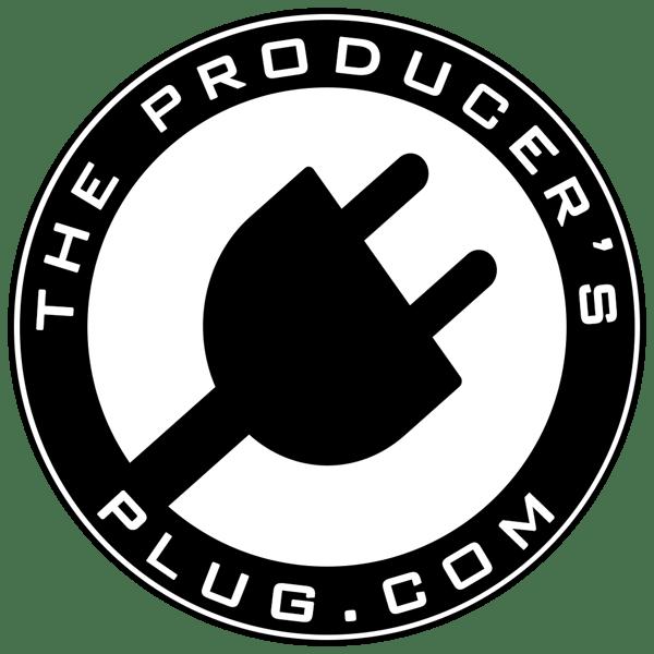 Image of The Producer's Plug.com Logo | Sticker