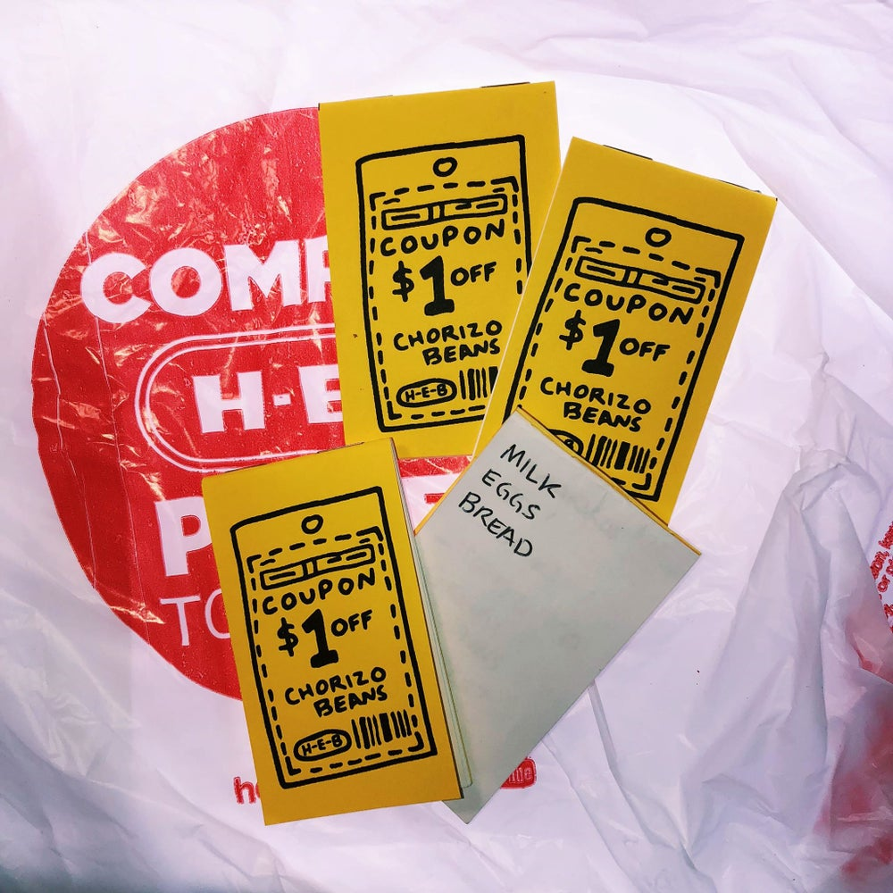 Image of HEB Coupon Notebook