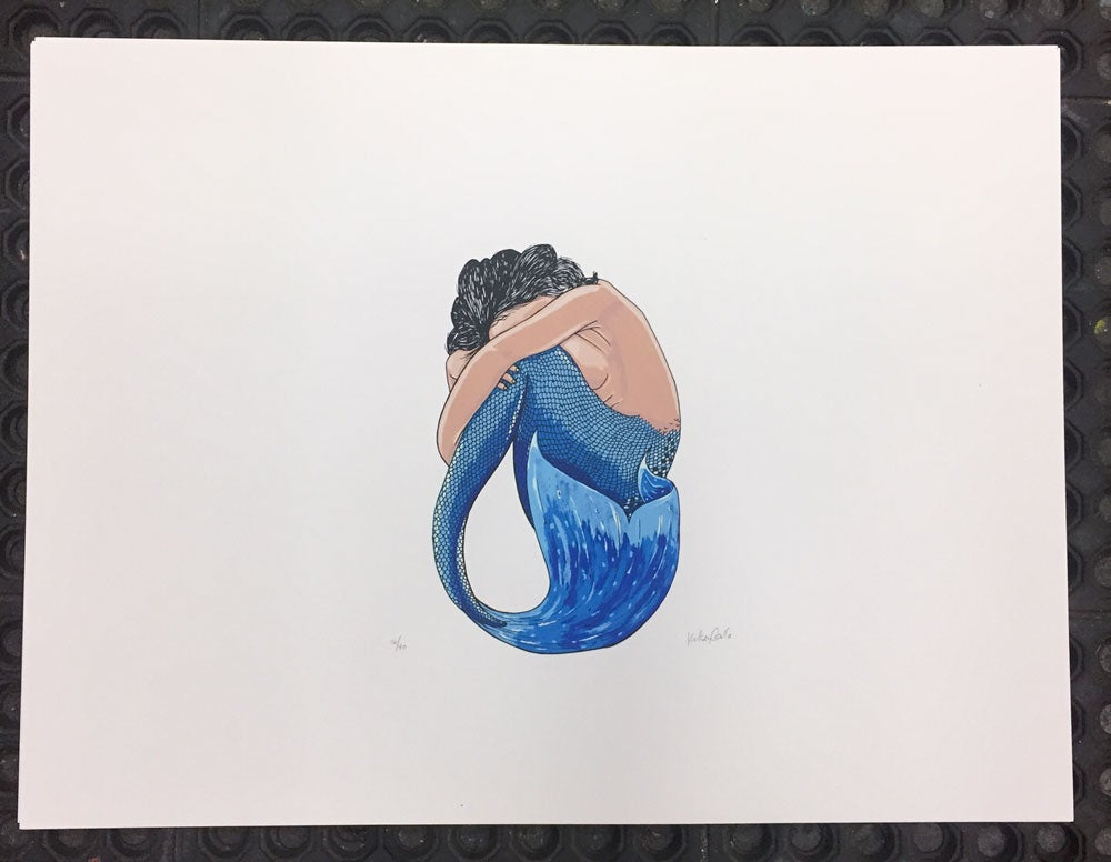 Image of Blue Mermaid