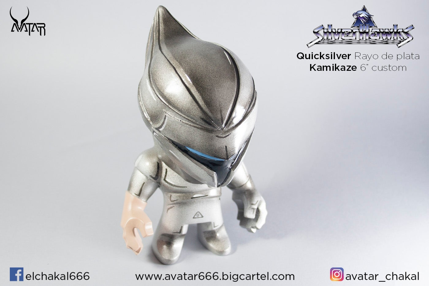 Image of QuickSilver / Rayo de plata