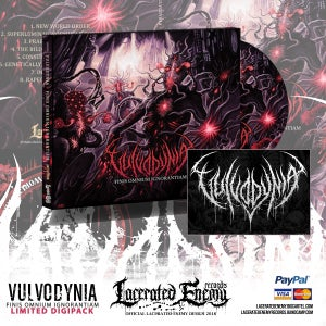 Image of VULVODYNIA - Finis Omnium Ignorantiam LTD DIGIPACK