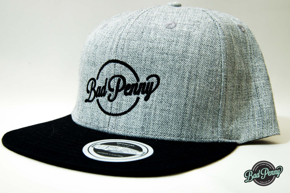 Image of Bad Penny Flat Peak Two Tone Hat