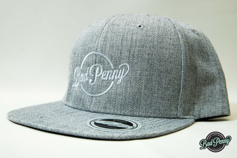Image of Bad Penny Flat Peak Grey Hat