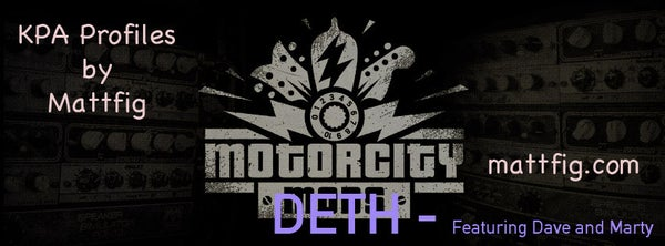 Image of Deth Profile Pack