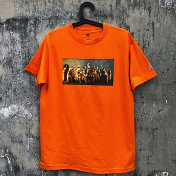Image of THE 4PK - SHAOLIN 18 IRONMAN ORANGE TEE