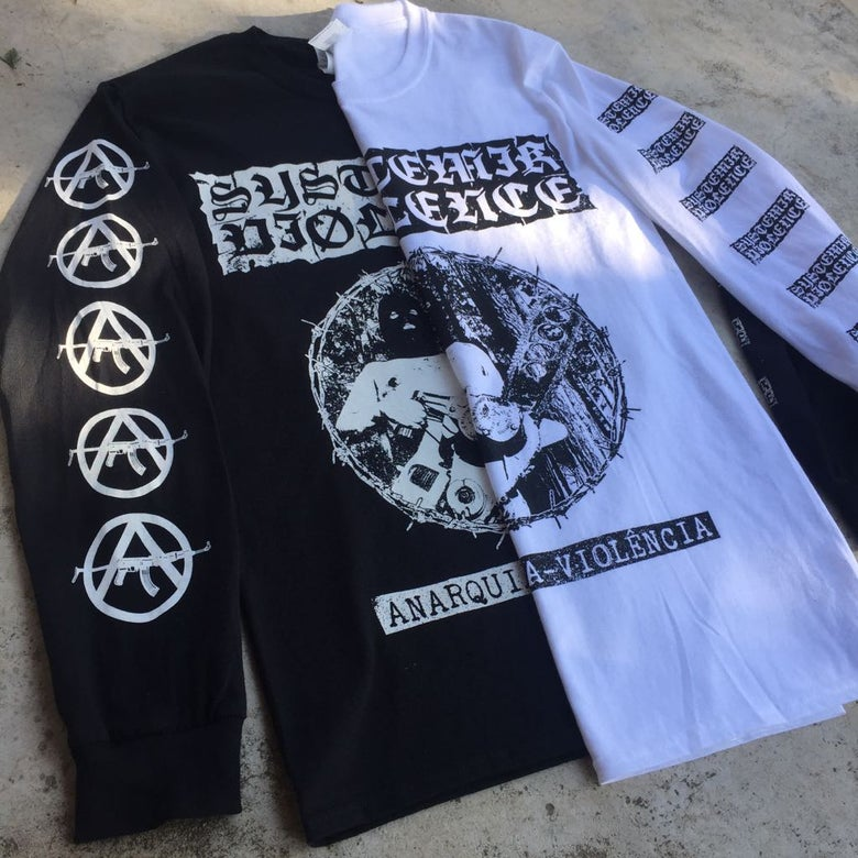 "Image of ""Anarquia-Violência"" Long Sleeve"