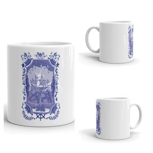 Image of Delft Kraken Coffee Mug
