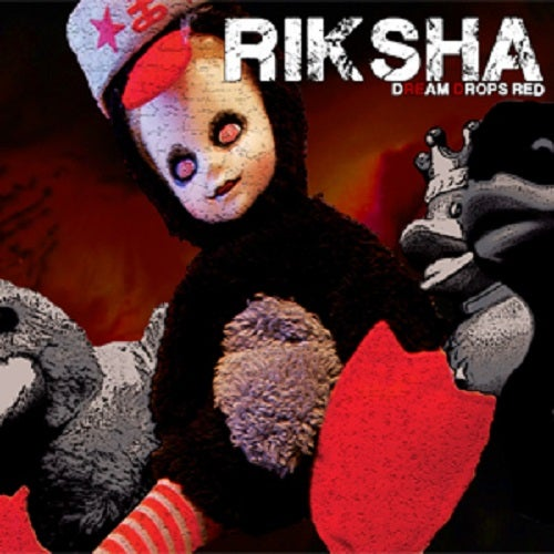 "Image of RIKSHA ""Dream Drops Red"" CD 2013"
