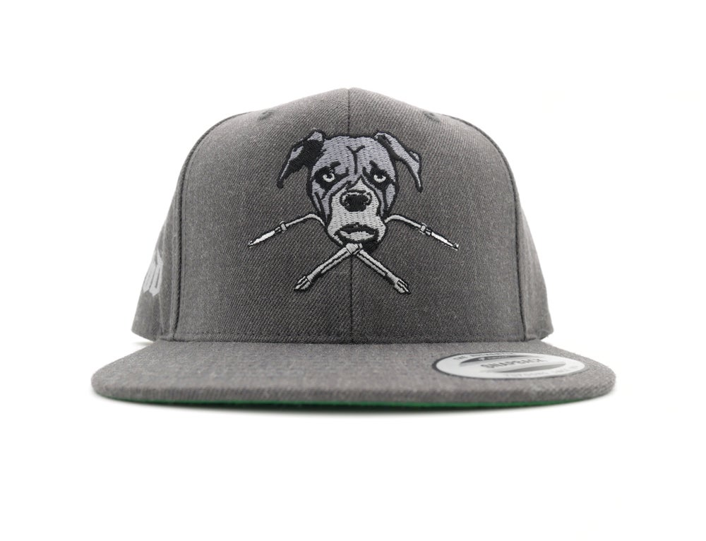 Image of Original BDW Logo Grey Snapback Hat