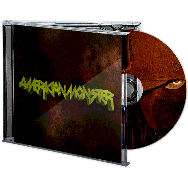 Image of Lo Key - American Monster CD