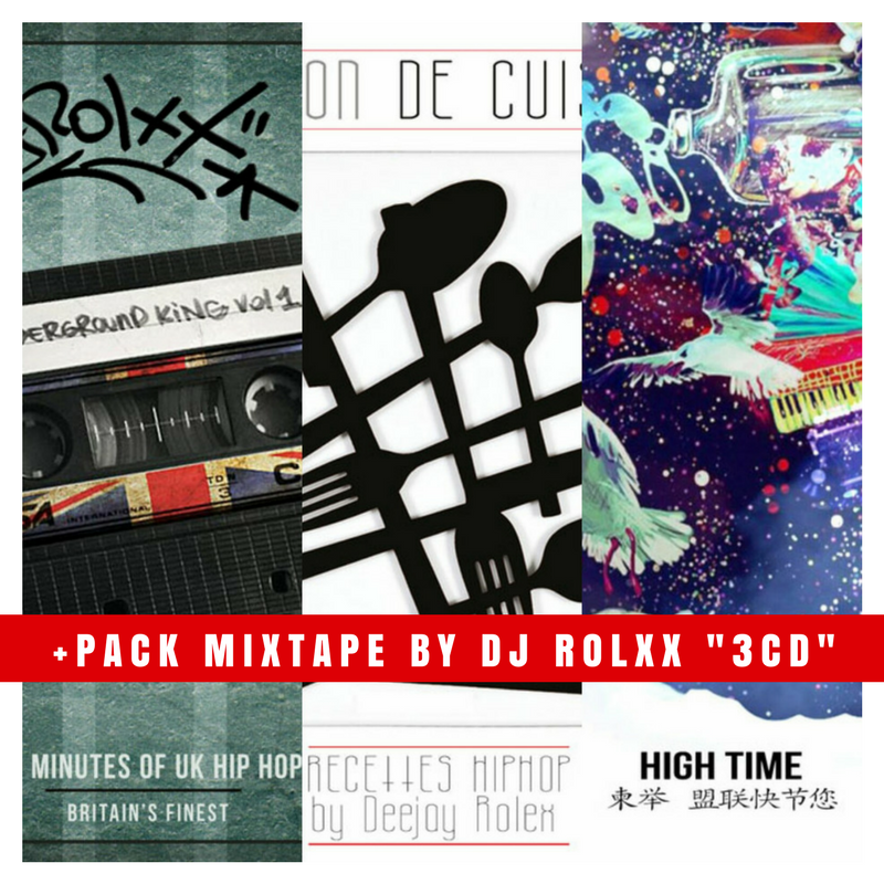 Image of Pack 3 mixtape by Dj Rolxx