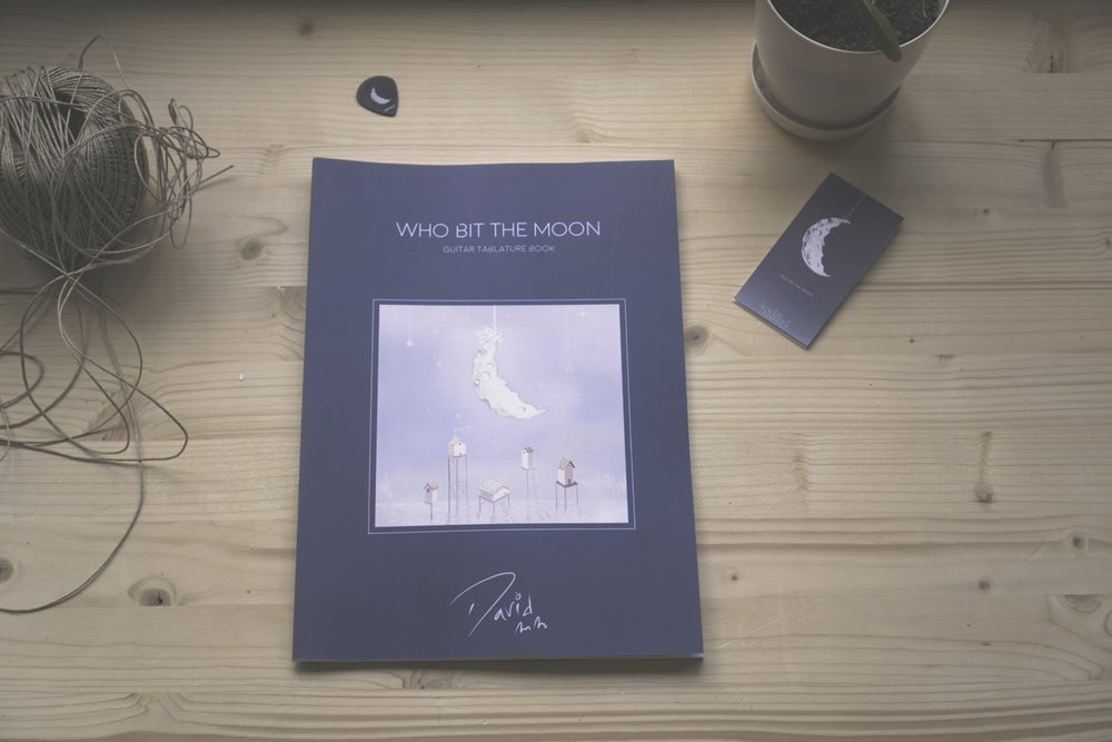 Image of Who Bit The Moon - Printed Tab-Book (Guitar)