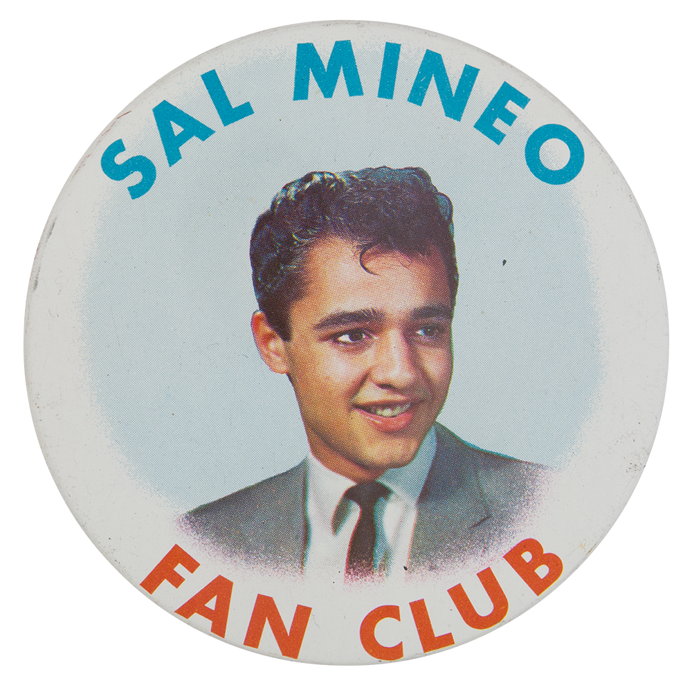 Image of Sal Mineo Fan Club button