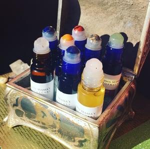Image of Gemstone Rollerball Healing Oil Blends