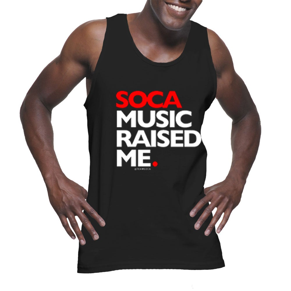 Image of Soca Music Raised Me - Tank Top