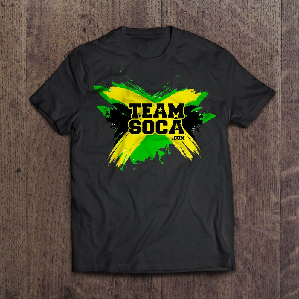 Image of Team Soca Island T Shirts - Jamaica Version 2
