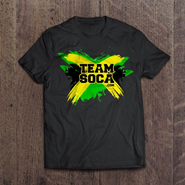 Image of Team Soca Island T Shirts - Jamaica 2018