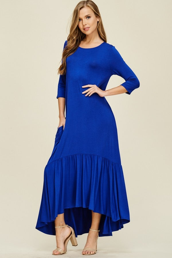 Image of Megan Royal Maxi *Curvy