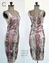 raspberry mamba dress
