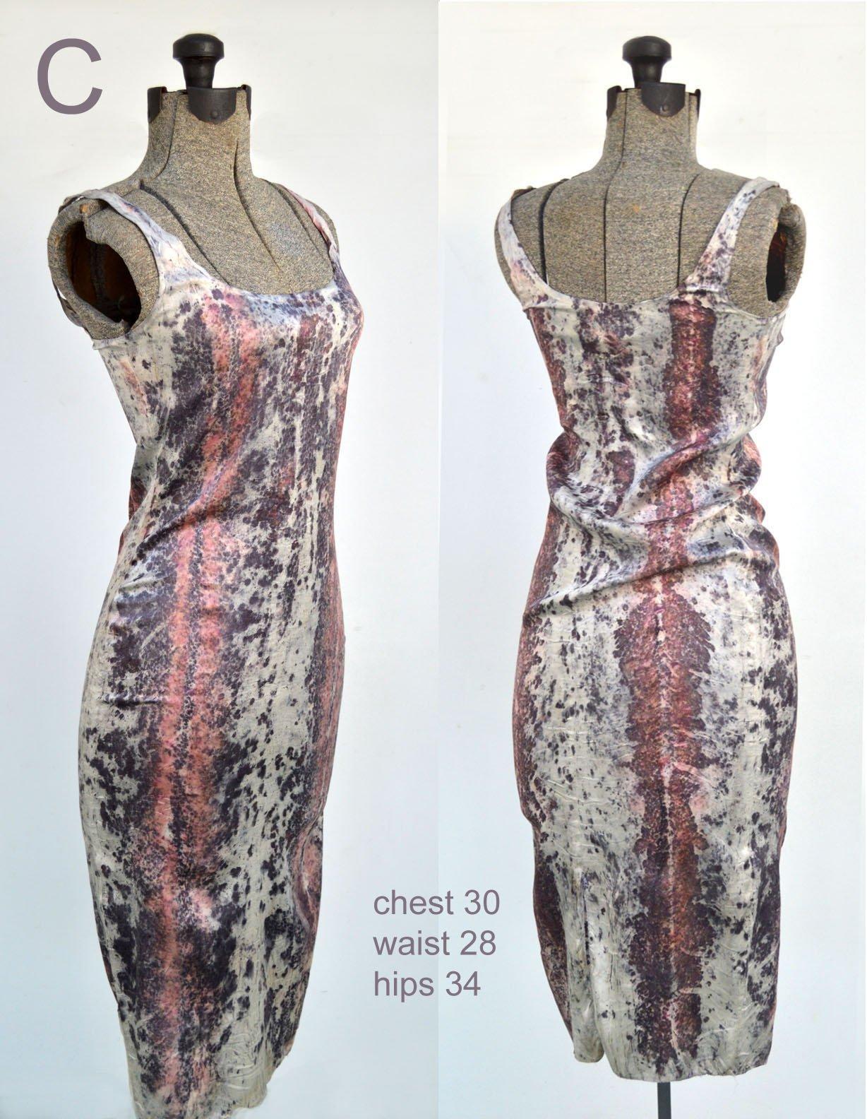 Image of raspberry mamba dress