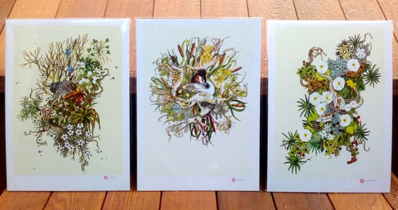 Image of Alpine Watercolour Series - 3 x A3 Prints