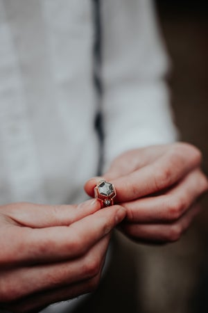 Image of Adeline ring and insert